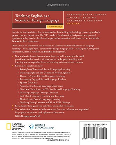 Teaching English as a Second or Foreign Language, 4th edition by imusti
