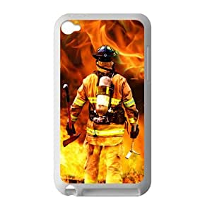 Diseño Persoanlized bomberos iPod Touch 4 carcasa para iPod Touch 4 TPU