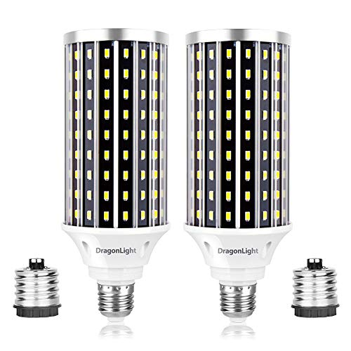 50W Super Bright LED Corn Light Bulbs(400 Watt Equivalent) - E26/E39 Mogul Base LED Bulbs - 6500K Daylight 5000 Lumens… 1