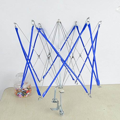 WellieSTR New Metal Umbrella Swift Yarn Winder Holder free shipping by WellieSTR