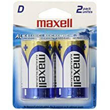 Maxell LR20 2BP D Cell 2-Pack Battery 723020