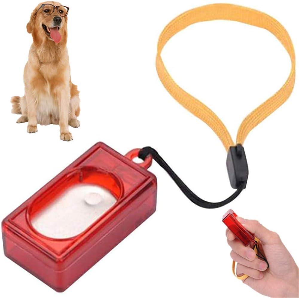 Rysmliuhan Shop Klicker Hund Clicker Hunde Hund Verhalten Trainer Hund Training Aids Welpen Clicker Training Kit Katze Training Clicker Hund Clicker Trainer 1pcs Küche Haushalt