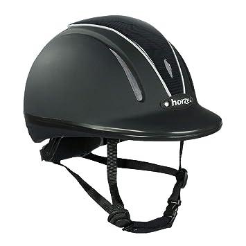 horze Pacific Reithelm Verstellbarer Helm VG1 Defenze Damen, Herren und Kinder, Alle Großen