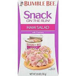 Bumble Bee Snack On The Run Ham Salad wi...