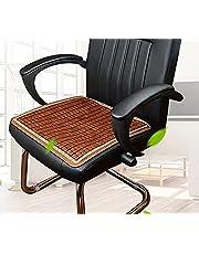 Mysummer Chair Seat Pad Car Seat Cushion, Breathable Car Interior Seat Cover Cushion Pad Bamboo Mat for Auto Supplies Office Chair