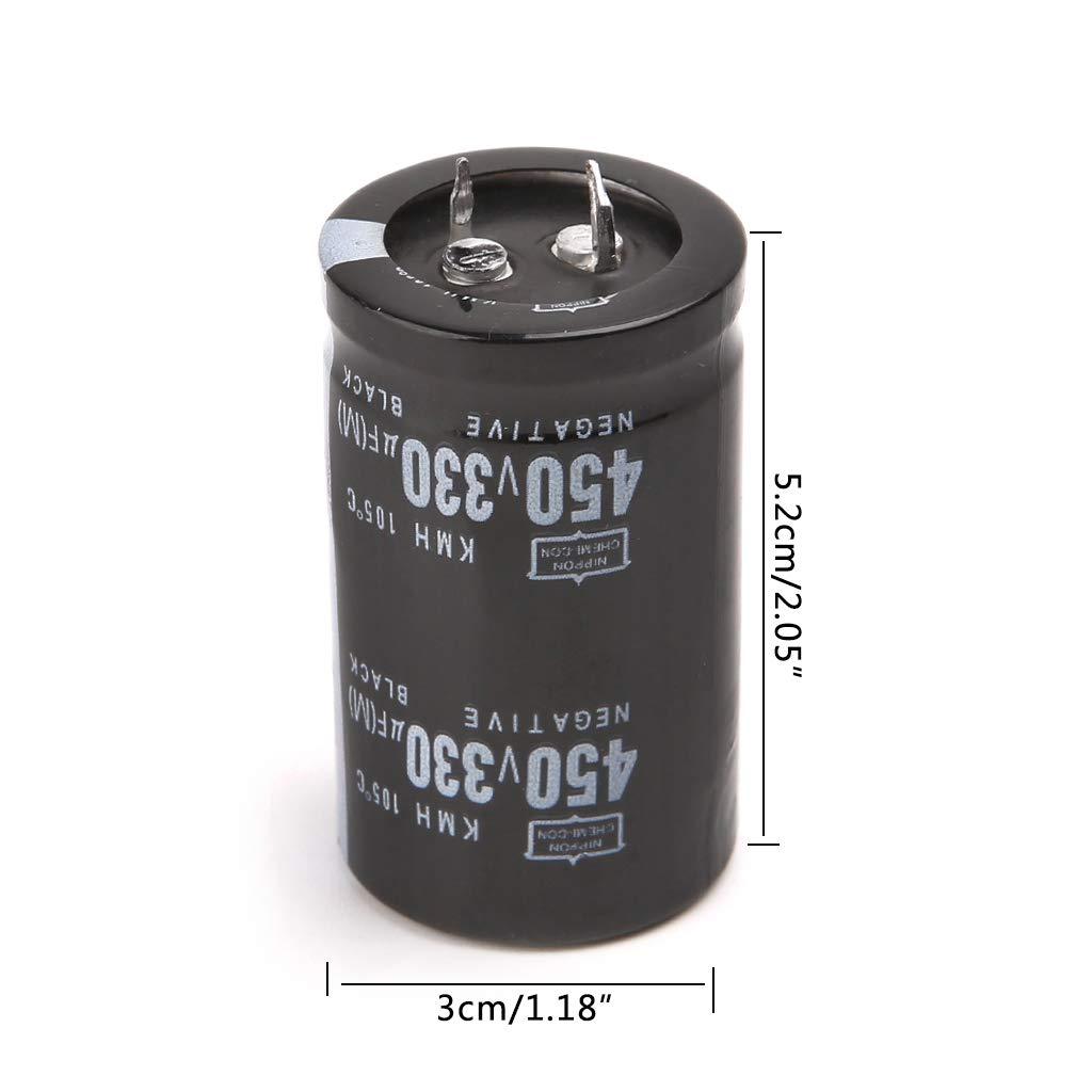 Condensateur /électrolytique en aluminium haute fr/équence 450V 1000uF Volume 35x60 Bogji