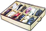 Under The Bed Storage Organizer For Shoes And Accessories