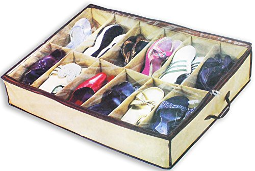 Under The Bed Storage Organizer For Shoes And Accessories by ToolUSA