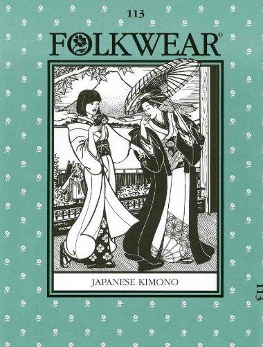 Japanese Kimono Pattern: Folkwear 113 Vogue' s Supplier FW113