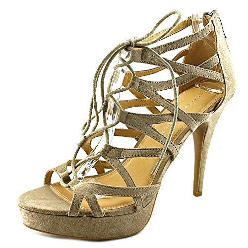 Chinese Laundry Z-Hop Scotch Women Gray Platform Sandal Taupe OCnJ8