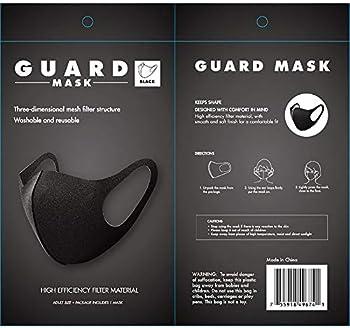 Allure Guard Face Mask (Gray or Black)