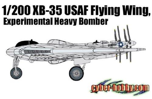Heavy Bomber Kit - Cyber Hobby 1/200 XB-35 USAF Flying Wing, Experimental Heavy Bomber