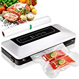 Aobosi Vacuum Sealer Automatic Vacuum Machine with BPA Free Bag Roll for Food