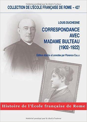 Livres gratuits Correspondance avec Madame Bulteau (1902-1922) pdf