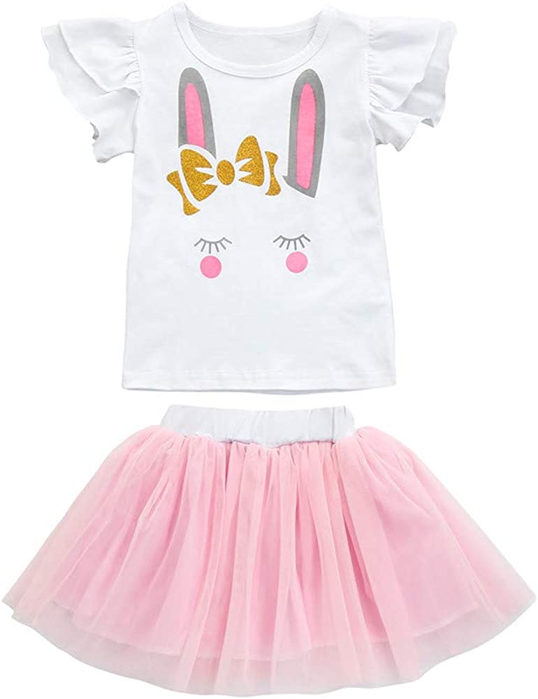 JiaMeng - Body Bebé - Camiseta Tutu Tul Falda Conjunto - niña ...