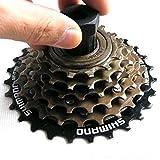 VANKER 1Pc Black Unique Mountain Bike Functional Wheel Remover Repair Tool