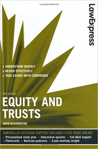 equity and trusts notes