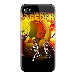 MikeEvanavas Cases Covers For Iphone 6 - Retailer Packaging Washington Redskins Protective Cases
