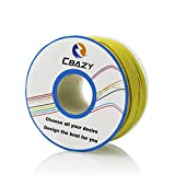 CBAZY™ Hook up Wire (Stranded Wire) 22 Gauge Flexible Silicone Wire 22AWG 25M (82 Feet) Electrical Wire Yellow