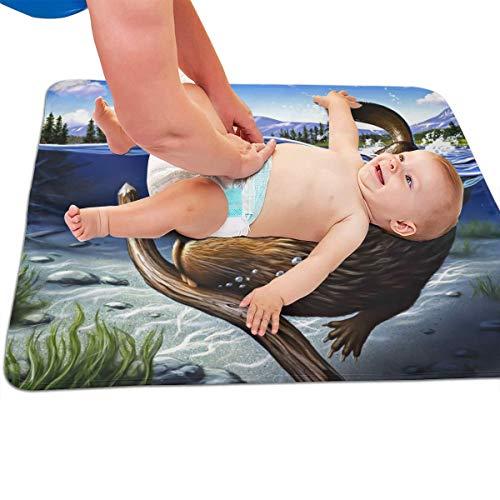 V5DGFJH.B Baby Portable Diaper Changing Pad Busy Beaver Urinary Pad Baby Changing Mat 31.5