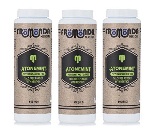 Fromonda Body Powder AtoneMint 5 oz, 3-Pack