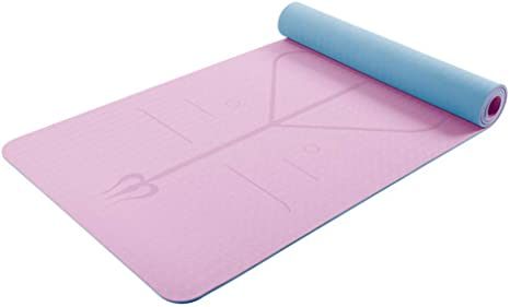 Con Colchoneta de Yoga, colchoneta de Fitness de 6 mm para