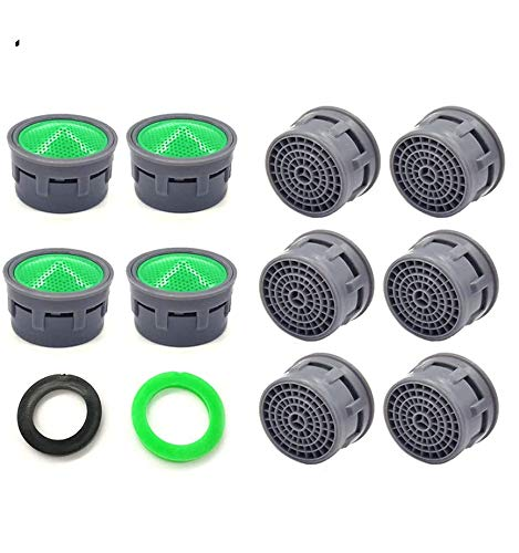 Faucet Aerator Faucet Flow Restrictor Replacement Parts Insert Sink Aerator For Bathroom Or Kitchen 10pcs Amazon Com Industrial Scientific