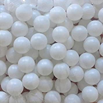 pelota de tenis de mesa kaptin 150/pcs 40/mm pl/ástico Pelotas de Pong de Cerveza color blanco