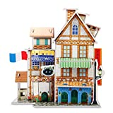 3D Puzzle Jigsaw Educational toys DIY for kids Hotel 73-piece