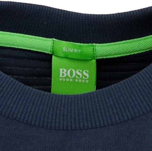 New Hugo Boss Green Men/'s Salbo Fashion Crew Neck Sweater Sweatshirt 50333928