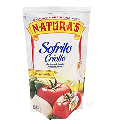 Amazon.com : Naturas Sofrito Sauce 8.0 oz - Salsa (Pack of 6) : Grocery & Gourmet Food