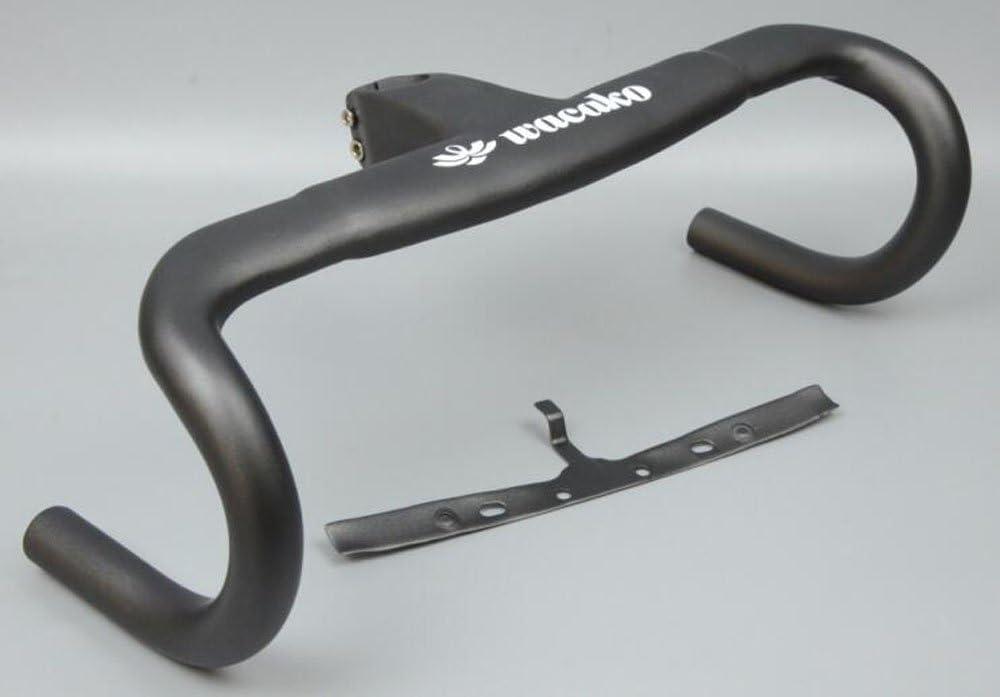 WK-H020 WACAKO正規品 ドロップハンドル ステム一体式 ロードバイク用 カーボンハンドル  90mm