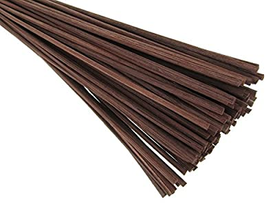 "Breath Me TM Natural Rattan Reed Diffuser Replacement Stick 12"" X 3mm-Brown"