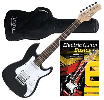 Rocktile Sphere Junior Guitarra eléctrica 3/4 Negro: Amazon.es: Instrumentos musicales