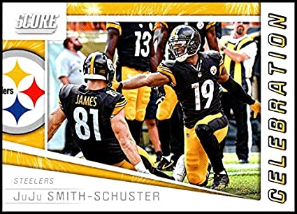 e0bf8488a3c 2019 Score Celebration #10 JuJu Smith-Schuster NM-MT+ Pittsburgh Steelers  Officially Licensed