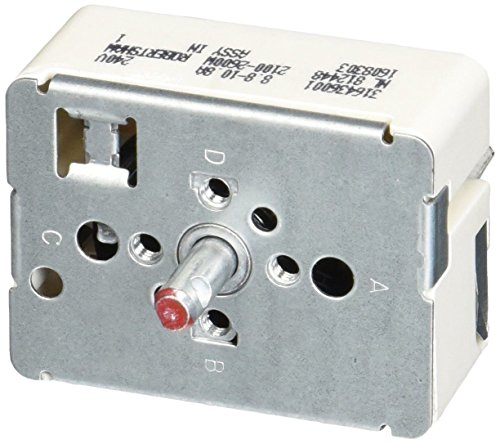 ement Burner Switch for Frigidaire 316436001 AP3885460 PS1145040 ()