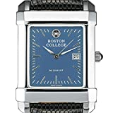 Boston College Men's Blue Quad Watch with Leather Strap