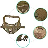 xhorizon SR Tactical Dog Vest, Adjustable Patrol Harness...