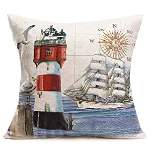 51LRn%2B53uhL._SS300_ 100+ Nautical Pillows & Nautical Pillow Covers