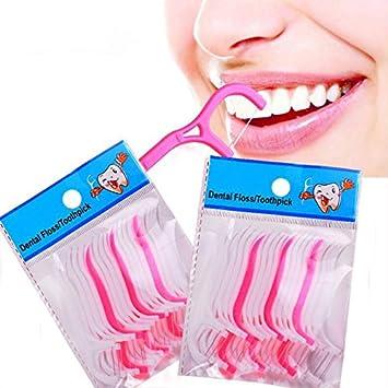 GDS 2PC ZAHNSEIDE, ultra dünnen Draht, Zahn Bar, Zahnstocher, Zähne ...