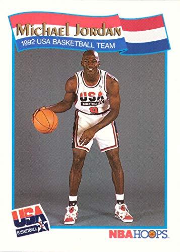 - 1991-92 NBA Hoops #55 Michael Jordan Team USA Olympic Basketball Card