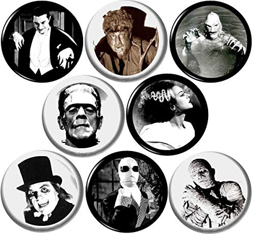 (Universal Monsters Set of 8 New 1