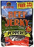 Hi-Country Beef Jerky, Peppered, 16-Ounce Value Pack
