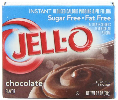 Sugar Free Pudding Pie (Jell-O Sugar-Free Instant Pudding & Pie Filling, Chocolate, 1.4-Ounce Boxes (Pack of 24))