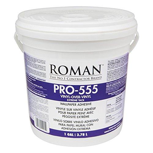(Roman 011901 PRO-555 1 gal Extreme Tack Wallpaper Adhesive)
