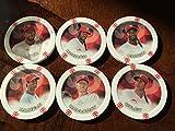 2014 Topps Chipz Philadelphia Phillies Team Set 6 Poker Chips