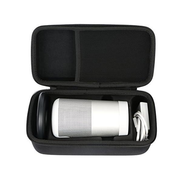 Khanka Dur Cas étui de Voyage Housse Porter pour bose soundLink Revolve Enceinte Bluetooth S'adapte Socle 2