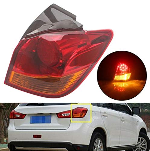 Clidr Outer Tail light Signal Lamp Fit For 2012 2013 2014 2015 2016 Mitsubishi ASX RVR Outlander Sport GAXW GA6W GA6W Rear Passenger Side Stop Brake Light (Right)