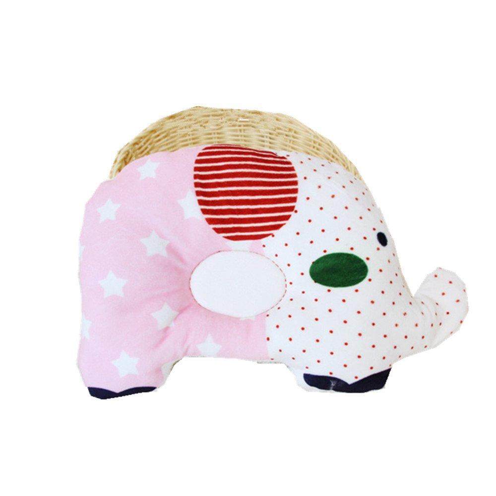 JYSPORT Baby Pillow, Anti-Flat Head Syndrome Anti-Pressure Support Pillow Cotton Soft Newborn Cushion