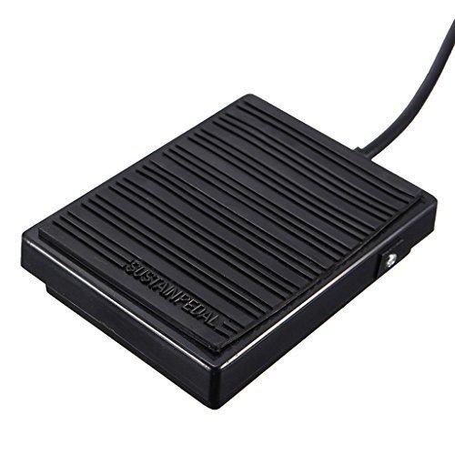 ... controlador interruptor regulador interruptor para la electrónica Teclado Piano Reparación Sustain Peda Negro: Amazon.es: Instrumentos musicales